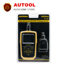 Fast shipping AUTOOL OL129 OBD CAN Universal Automotive Scanner Engine Error Diagnostic Tool better Than AUTEL 519