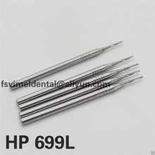 5 PCS SBT HP 699L#  Dental Low Speed Carbide burs Long  Flat  tooth Drills dental lab materials Dentist products