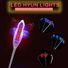 Butterfly Fairy Stick Cute LED Light Glow Stick Neon Prom Decoration Flash Light Halloween Costume Party Supplies Decoration(China)