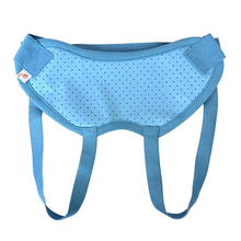 New Treatment Hernia Belt Medicine Bag For Adult Umbilical Men Blue Release Pain Surgery For Men Health Care(China)