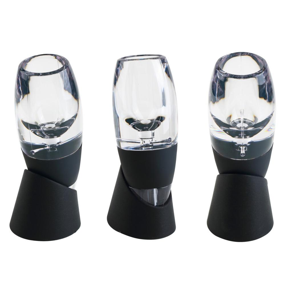 2pcs Mini Red Wine Aerator Filter, Magic Decanter Essential Wine Quick Aerator, Wine Hopper Filter Set Wine Essential Equipment<br><br>Aliexpress