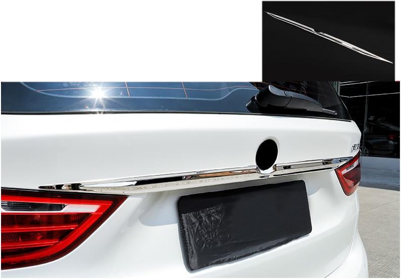 2014-2018 BMW 2 GRAN TOURER F46 Chrome Rear Bumper Protector Guard S.Steel