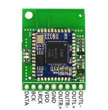 BTM625-B CSRA64215 Bluetooth Stereo Module Group Balanced Differential Analog I2S Digital Audio Output Test Backplane