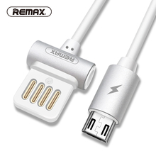 Buy Remax Waist Drum Dual-side USB Charger Micro USB Data Cabe 1m 2.1a Alloy Charging Sync Data Cable Samsung/xiaomi micro for $3.36 in AliExpress store