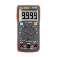 AN8008 True-RMS Digital Multimeter AC DC Voltage Current Resistance Tester 9999 Counts Square Wave Backlight LCD Display(China)
