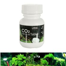 100pcs Fish Tank ISTA Aquarium CO2 Adding Tablet Carbon Dioxide Water Plants Fertilizer Moss Diffuser Home Supplies