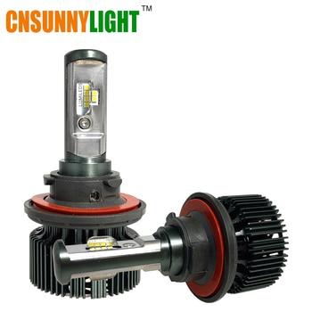 Csp cnsunnylight superior llevó la linterna del coche h4 h13 9004 hb1 9007 HB5 80 W 8000lm 6000 K Sumergido Alta Haz Auto Bombilla de Repuesto 12 V 24 V