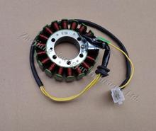 3 phrase DC 18 pole magneto stator for 250 cc water cooled Scooters Moped ATV Motorcycle CF250 V3 V5 CH250 CN250