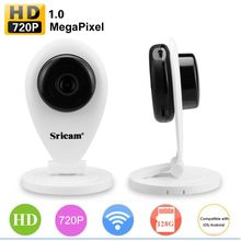 720P Wireless Sricam SP009 SP009a P2P IP Camera Wifi Network Home CCTV Remote Security Baby Monitor Surveillan Web Camera(China)