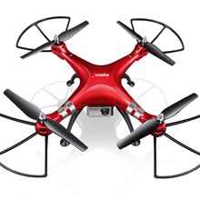SYMA Professional UAV X8HG 2.4G 4CH RC Quadcopter Gyroscope Remote Control Drone With 1080P HD Camera Red Kids Adults Toys Gifts