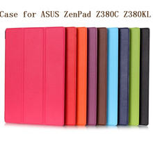 Magnet Leather Cover Stand Case for Asus Zenpad 8.0 Z380 Z380C Z380KL Tablet + Screen Protectors + Stylus