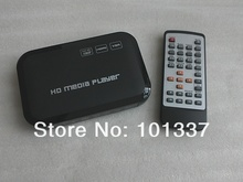 JEDX HD601 Full HD Media Player 1080P with HDMI VGA SD MKV H.264 RMVB WMV USB External HDD free shipping