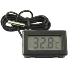 DIY Digital LCD Car Thermometer Probe 1M -50~110 Celsius Humidity Temperature Tester Instruments Hygrometer Pyrometer Thermostat
