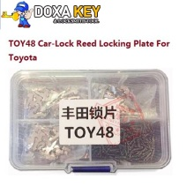 (150pcs) Type 1.3.5 Each 50PCS TOY48 Car Lock Reed Auto Lock Repair kits Lock Plate for Toyota Crown New Lexus