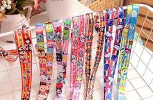 New 1Pcs Popular Cartoon tsum mickey minnie kitty mixed Neck Straps Lanyards Mobile Phone,ID Card,Key Condole belt Mixed