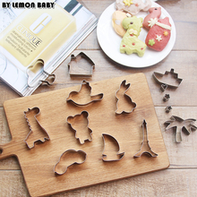 Many Kinds Cookie Cutter Metal Number Animal Baking Tools Biscuits Cake Bread Cutting DIY Vegetable Rice Mould SBY8034