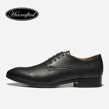 Size 35 ~ 50 Men Dress Shoes 2018 새 Hecrafted 소 분할 Leather Classic Men Business 공식 화 #1569(China)