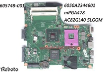 Classy Motherboard For HP Compaq CQ320 Laptop with Chipset AC82GL40 Socket mPGA478 P/N 605748-001 6050A2344601 DDR3 100% Work(China)