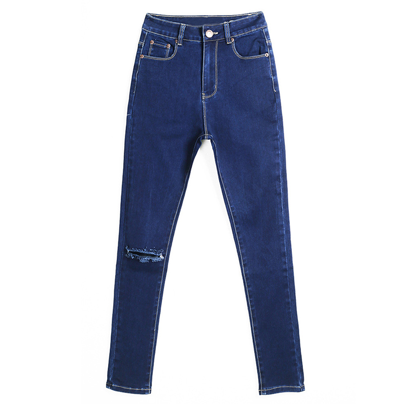 Womans fashion Jeans High Waist Jeans women Sexy Slim Skinny Pants Trousers Fit Lady Autumn JeansОдежда и ак�е��уары<br><br><br>Aliexpress