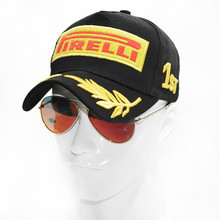 Hot 2017 Good Quality Cotton F1 Racing Golf Cap Casual Baseball Cap Snapback Hat cap Fitted Hats For Men and Women