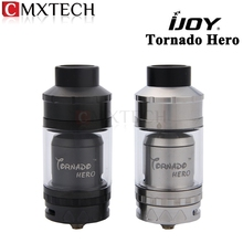 IJOY Tornado Hero Sub ohm Tank & RTA Electronic Cigarette Atomizer 5.2ml Kennedy-Style Airflow Side Filling Clearomizer Vape
