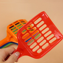 Hot New Cute Plastic Pet Dog Puppy Cat Litter Scoop Sand Waste Scooper Cleaning Tool Randomly For Small Puppy(China)