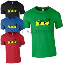 Lego Ninjago T-Shirt - Fun Cool Ninja Inspired Design Kids & Mens Unisex men's top tees DIY Factory store