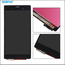 "5.2"" inch For Sony Xperia Z3 L55t D6603 D6653 LCD Display Digitizer Touch Screen With Full Assembly 100% Test,Black White"