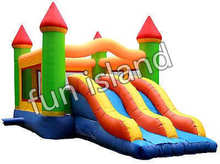 Kids Inflatable Castle Bouncer with Slide for Sale(China)