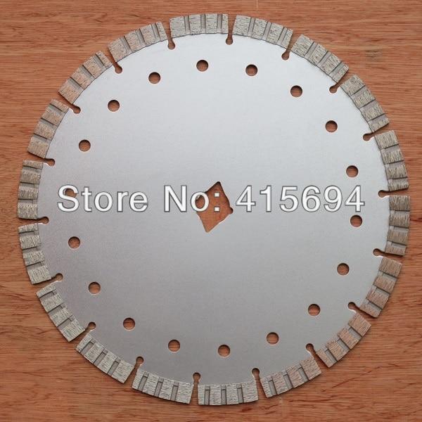 Free Shipping! Masonry Master cutting blade 263x13x22.23mm turbo blade for concrete,masonry.power tool blades.<br>