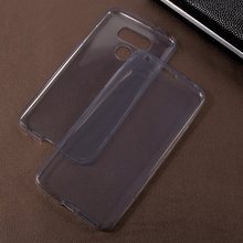 Dulcii For LG G6 Shell 2-in-1 Touchable TPU Mobile Casing Cover Front & Back Soft Sillicone