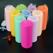 Crystal Tulle Plum Organza 22mX15cm Roll Sheer Gauze Element For Table Runner And Home Garden Wedding Party Decoration