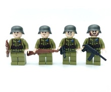 Chinese soldiers Lepin Weapons Original Blocks Toys Swat Police Military Weapons Gun Model City Accessories Lepin Mini figures