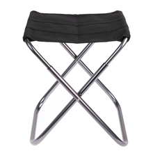 Aluminium Alloy Oxford cloth Folding Camp Fishing Stool Portable Chair for Outdoors 320g(China)