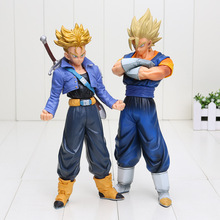 Anime Dragon Ball Z Super Saiyan Trunks Vegetto Master Star Piece Goku games Collection Action Figure model Toy children gift