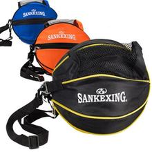 SANKEXING Outdoor Shoulder Soccer Ball Bags Nylon Sporting Carry Football kits Volleyball Basketball Bag Training Equipment(China)