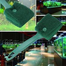 Green Practical Aquarium Plant Algae Cleaner Glass Fish Tank Clean Cleaning Brush Fish & Aquariums Accessories