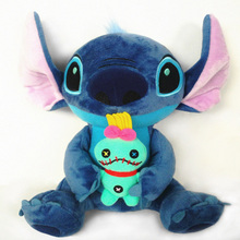 Kawaii Stitch Plush Doll Toys Anime Lilo and Stitch 25cm Stich Plush Toys for Children Kids Birthday Gift(China)