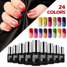 Modelones 7ML Thermal Nail Gel Temperature Color Changeable UV Soak Long Lasting Polish Professional LED - modelones Manicure Store store