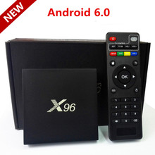 New Android 6.0 TV Box Amlogic S905X 2GB RAM 16GB ROM Quad Core WiFi 4K HD 1080i/P Smart Set Top BOX Media Player IPTV PK A95X