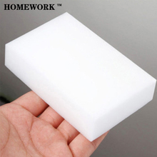 2pcs   Nano-sponge magic wipe magical scouring dishwashing detergent cleaning sponge magic sponge wipe Crean