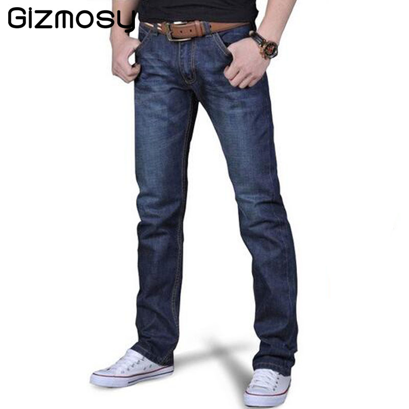 1 Pcs Jeans For Men Cheap Jeans China Straigh Regular Fit Denim Jeans Pants Classic Blue Color Brand Clothes Size 28 To 38 BN402Одежда и ак�е��уары<br><br><br>Aliexpress