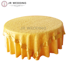 "10 pcs Free Shipping 90""*90"" Square Embroidery Gold Organza Table Overlay with Satin Trim Satin Edge Table Cloth For Wedding"