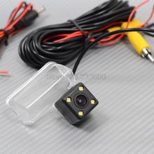 For Toyota Corolla 2013 2014 2015 Car Rear View Camera Reverse Backup Review Reversing Parking Kit With 4 Leds Night Vision(China)