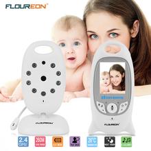 FLOUREON Digital Video Wireless Baby Monitor with camera Security 2 Talk Nigh Vision IR LED Temperature Monitoring baby Monitor(China)