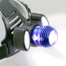 Zoomable T6 LED Headlight COB LED Head lamp Waterproof Rechargeable Headlamp By 2x 3.7v 18650 Battery Lights Biking Fishing