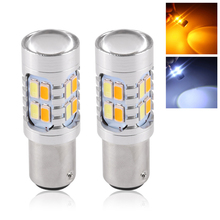 2pcs 20W Amber P21/5W 1157 BAY15D 20 led 5630 SMD High Power Tail Brake Stop Bulbs Car Light Source Parking Lamp Auto Tail Bulb