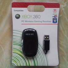 Black PC Wireless Controller Gaming USB Receiver Adapter For Microsoft XBOX 360 For Windows XP/7/8/10
