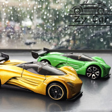 1:64. Dodge Viper Alloy metal car model kids toys Christmas gift birthday present Pocket car Sports car collect decoration(China)