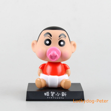 Crayon Shin-chan & Astro Boy Action Figure 1/8 scale painted figure Astro Boy Head Knocker Doll PVC ACGN figure Brinquedos Anime